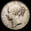 Victoria Crown 1845 Obverse
