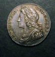 George II Shilling 1727 Obverse