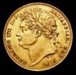 George IV Gold Sovereign 1824 Obverse