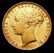 Victoria Gold Sovereign 1876 Obverse