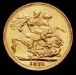 Victoria Gold Sovereign 1876 Reverse