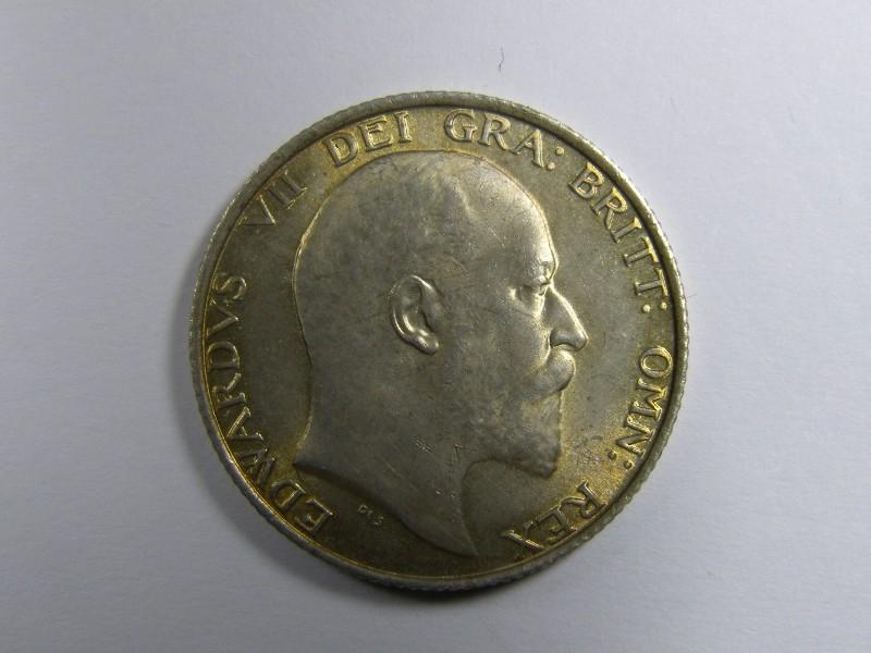 Shilling 1902 Edward VII. Standard type - Obverse