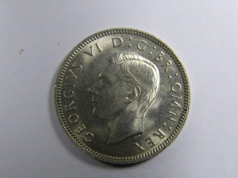 Shilling 1942 George VI. English - Obverse