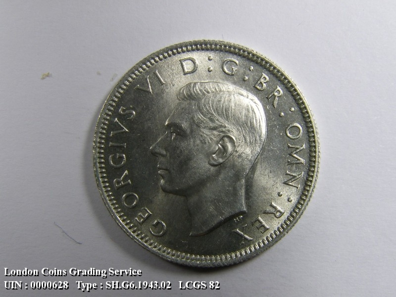 Shilling 1943 George VI. Scottish - Obverse