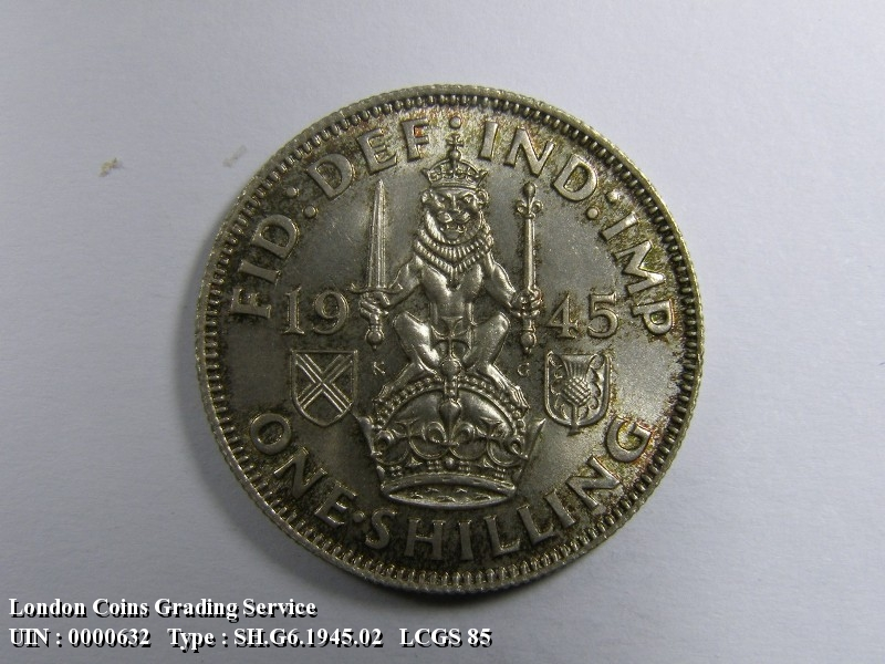 Shilling 1945 George VI. Scottish - Reverse