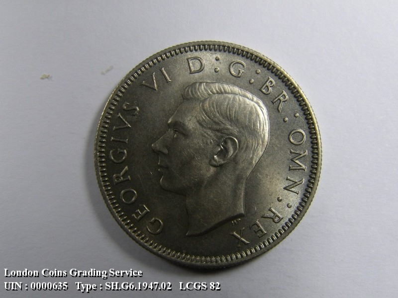 Shilling 1947 George VI. Scottish - Obverse