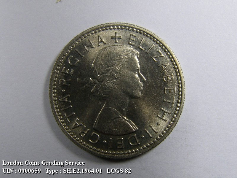 Shilling 1964 Elizabeth II. English - Obverse
