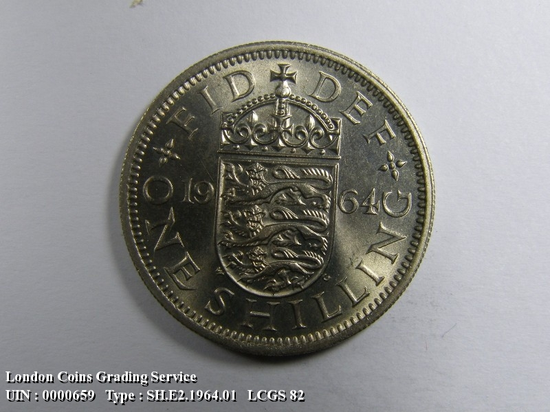 Shilling 1964 Elizabeth II. English - Reverse