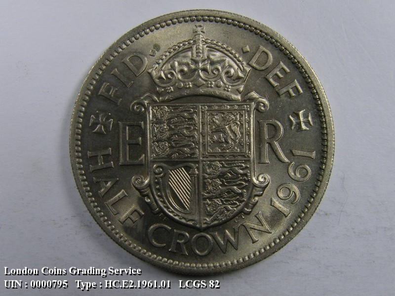 Halfcrown 1961 Elizabeth II. Standard type - Reverse