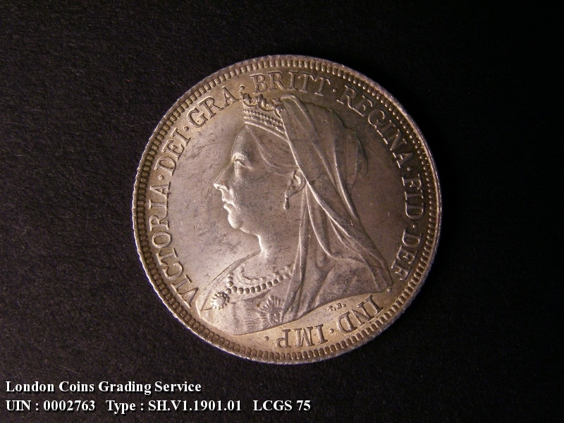Shilling 1901 Victoria. Standard type - Obverse