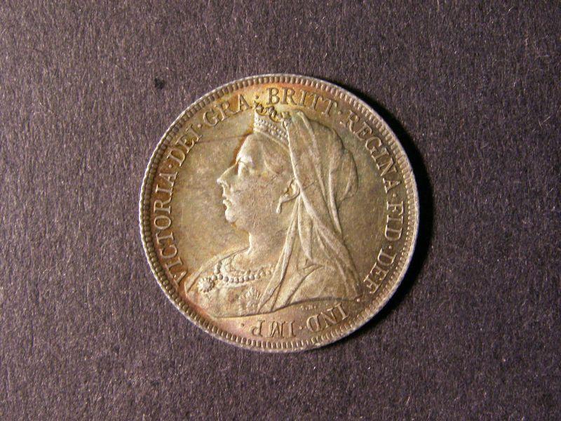 Shilling 1901 Victoria. Standard type - Obverse