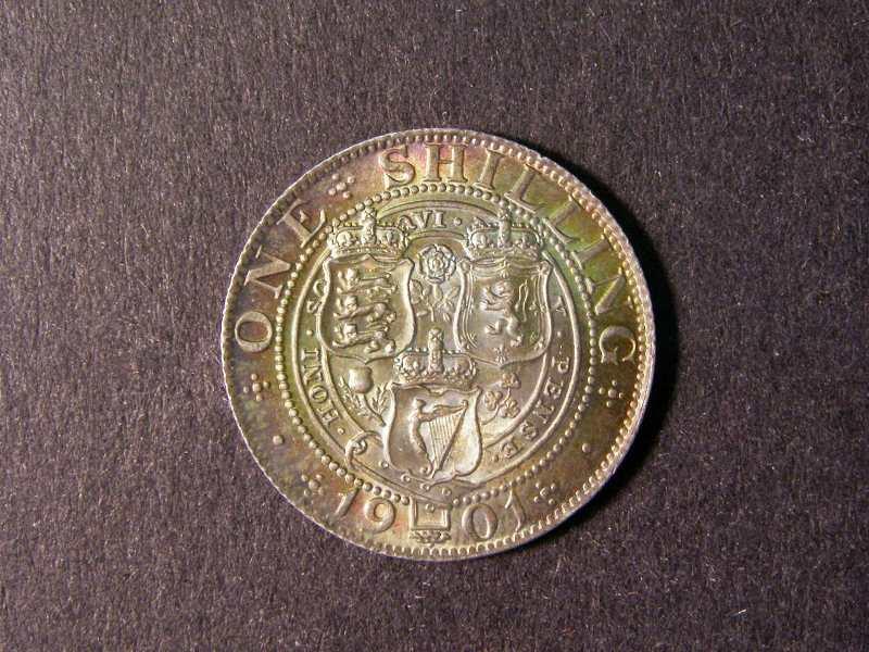 Shilling 1901 Victoria. Standard type - Reverse