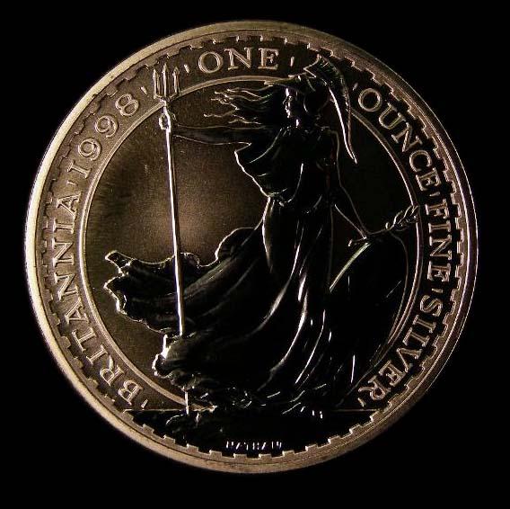 Britannia Silver £2 1998 Elizabeth II. Proof - Reverse