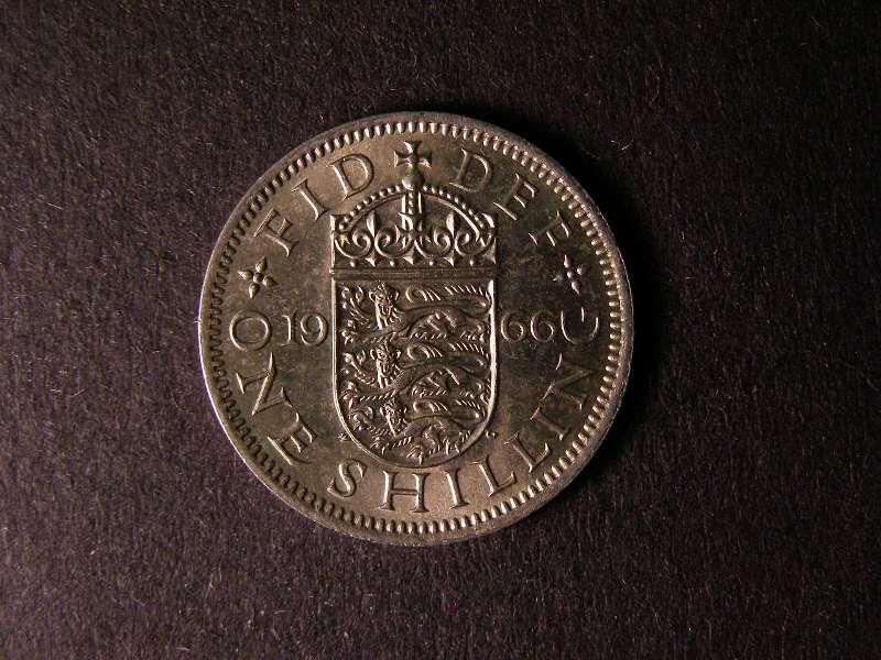 Shilling 1966 Elizabeth II. English - Reverse