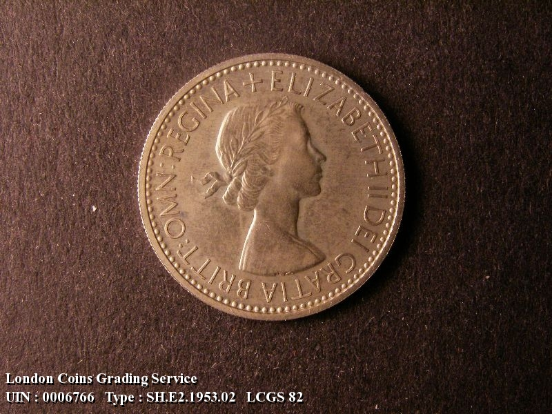 Shilling 1953 Elizabeth II. English Proof - Obverse
