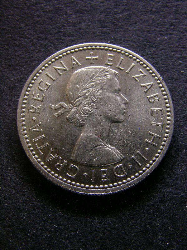 Shilling 1959 Elizabeth II. English - Obverse