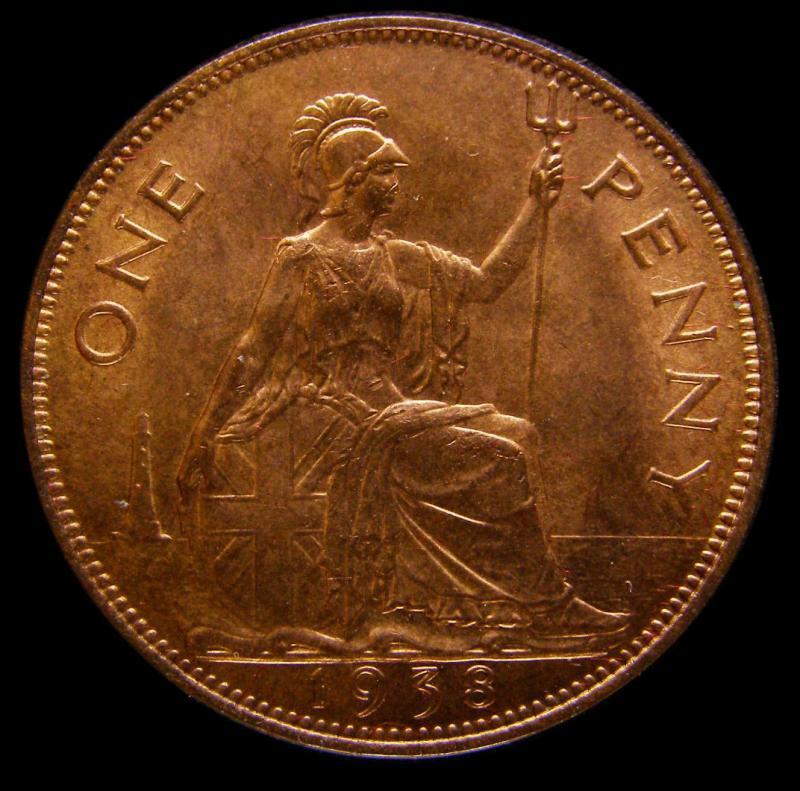 Penny 1938 George VI. Dies 2+B - Reverse