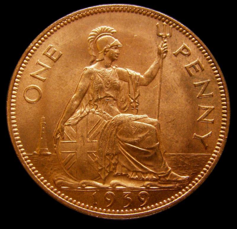 Penny 1939 George VI. Dies 2+B - Reverse