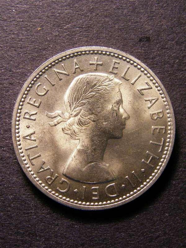 Florin 1962 Elizabeth II. - Obverse