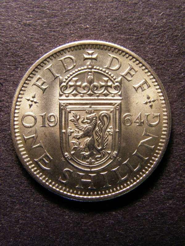 Shilling 1964 Elizabeth II. Scottish - Reverse