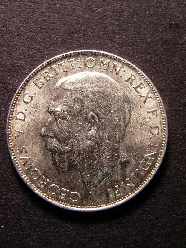 Florin 1924 George V. Standard type - Obverse