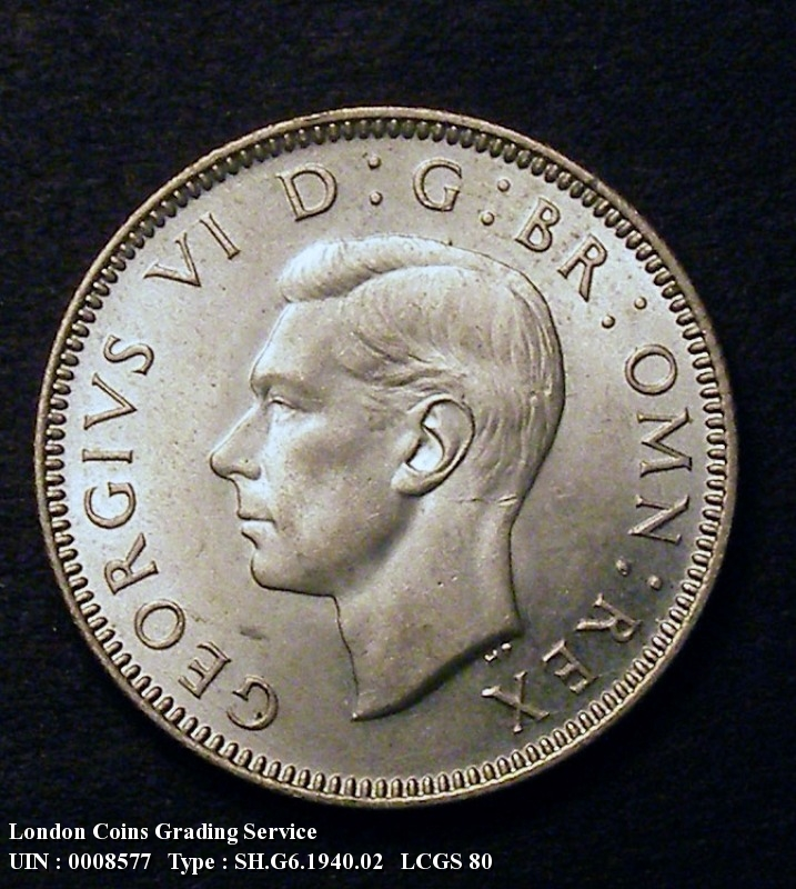 Shilling 1940 George VI. Scottish - Obverse