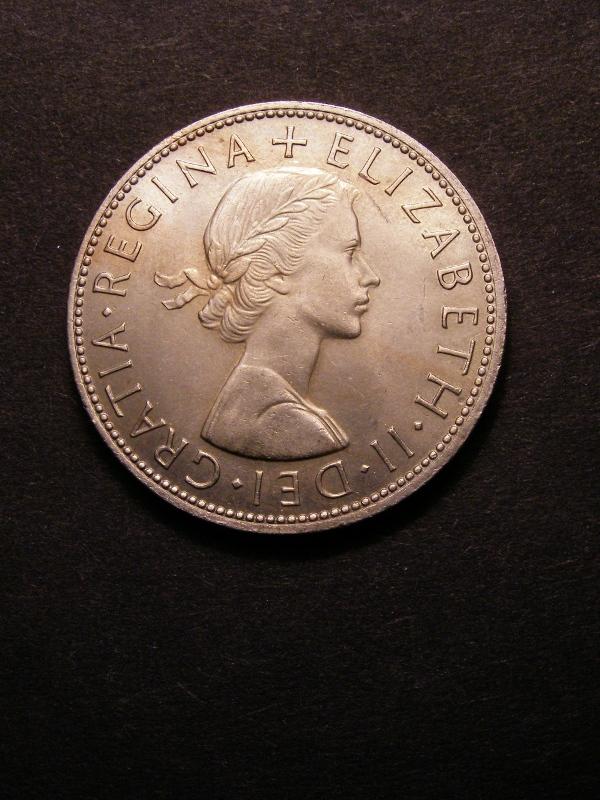 Halfcrown 1964 Elizabeth II. Standard type - Obverse