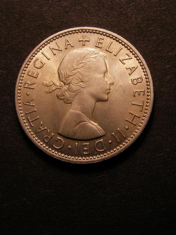 Florin 1963 Elizabeth II. - Obverse