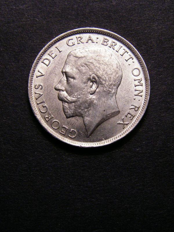 Shilling 1918 George V. Standard type - Obverse