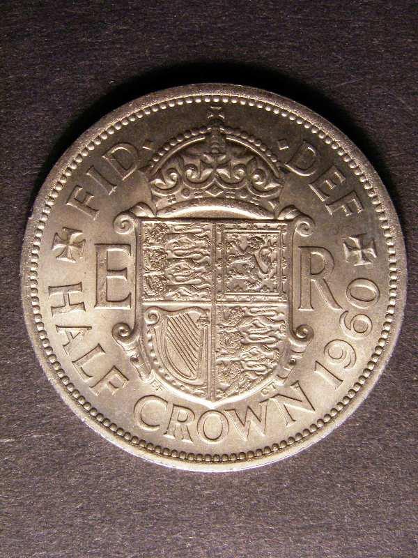 Halfcrown 1960 Elizabeth II. Standard type - Reverse