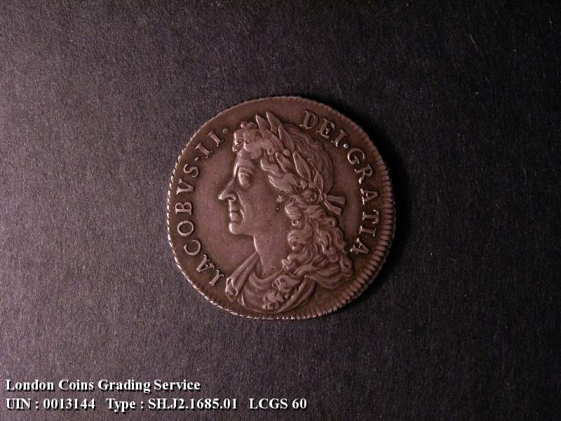 Shilling 1685 James II. - Obverse