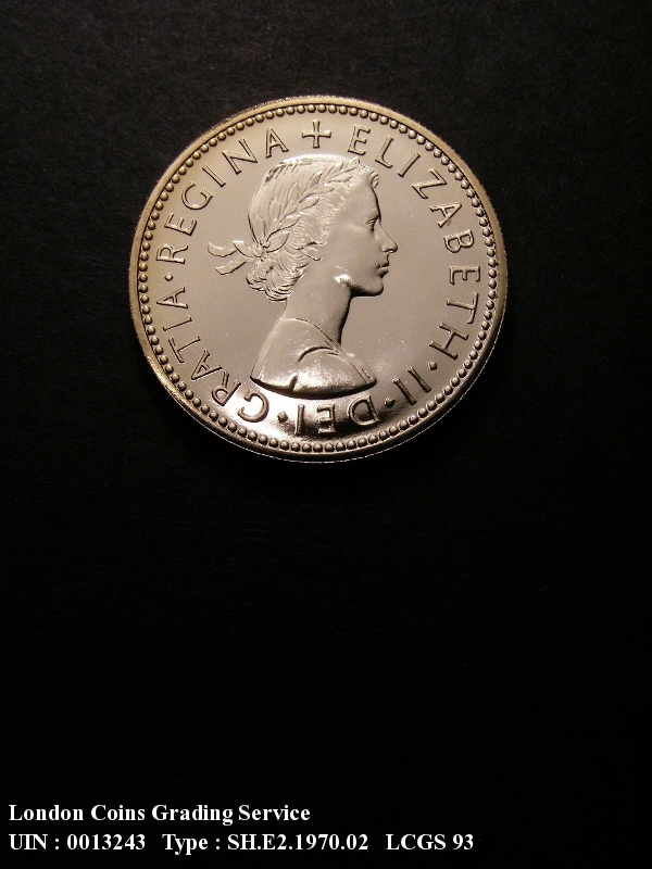 Shilling 1970 Elizabeth II. Scottish Proof - Obverse