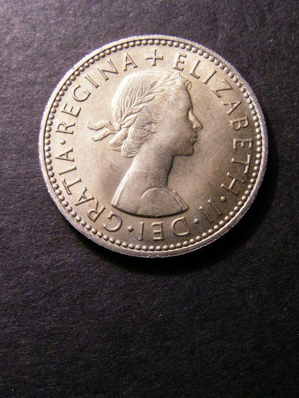 Shilling 1962 Elizabeth II. Scottish - Obverse