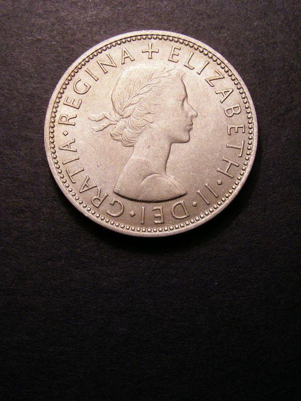 Florin 1960 Elizabeth II. - Obverse