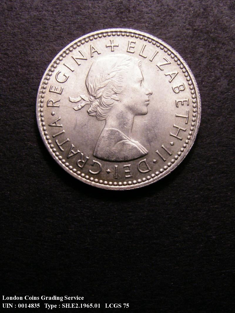Shilling 1965 Elizabeth II. English - Obverse