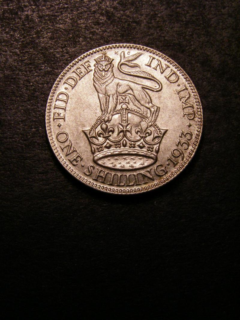 Shilling 1933 George V. Standard type - Reverse