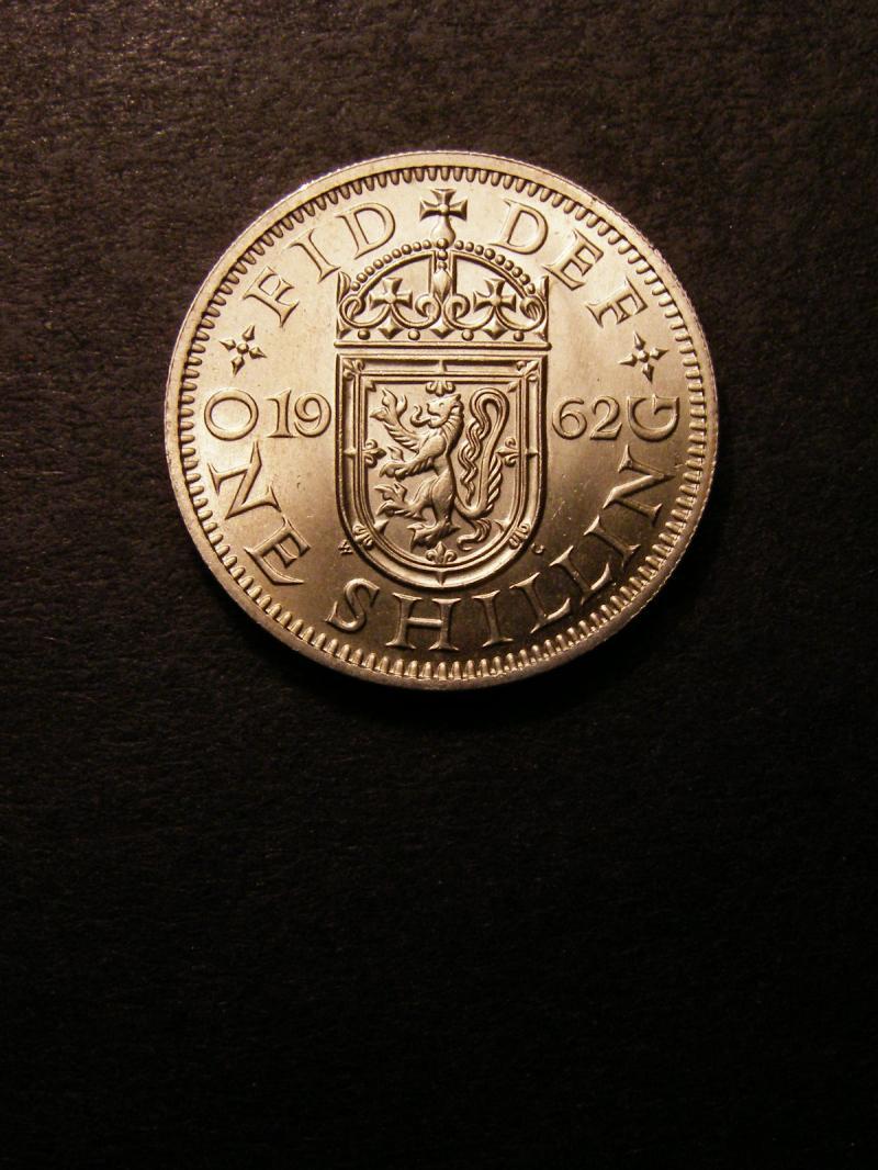 Shilling 1962 Elizabeth II. Scottish - Reverse