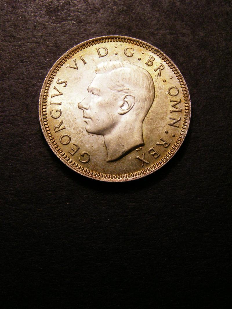 Shilling 1943 George VI. Scottish - Obverse