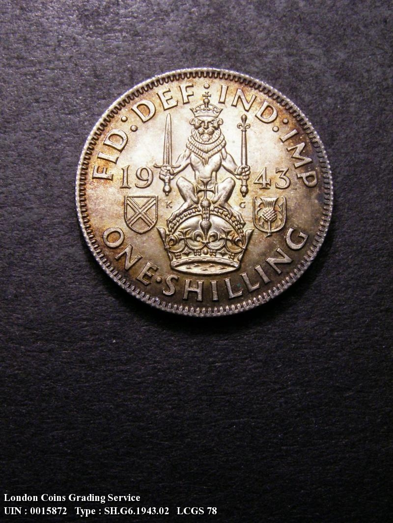 Shilling 1943 George VI. Scottish - Reverse