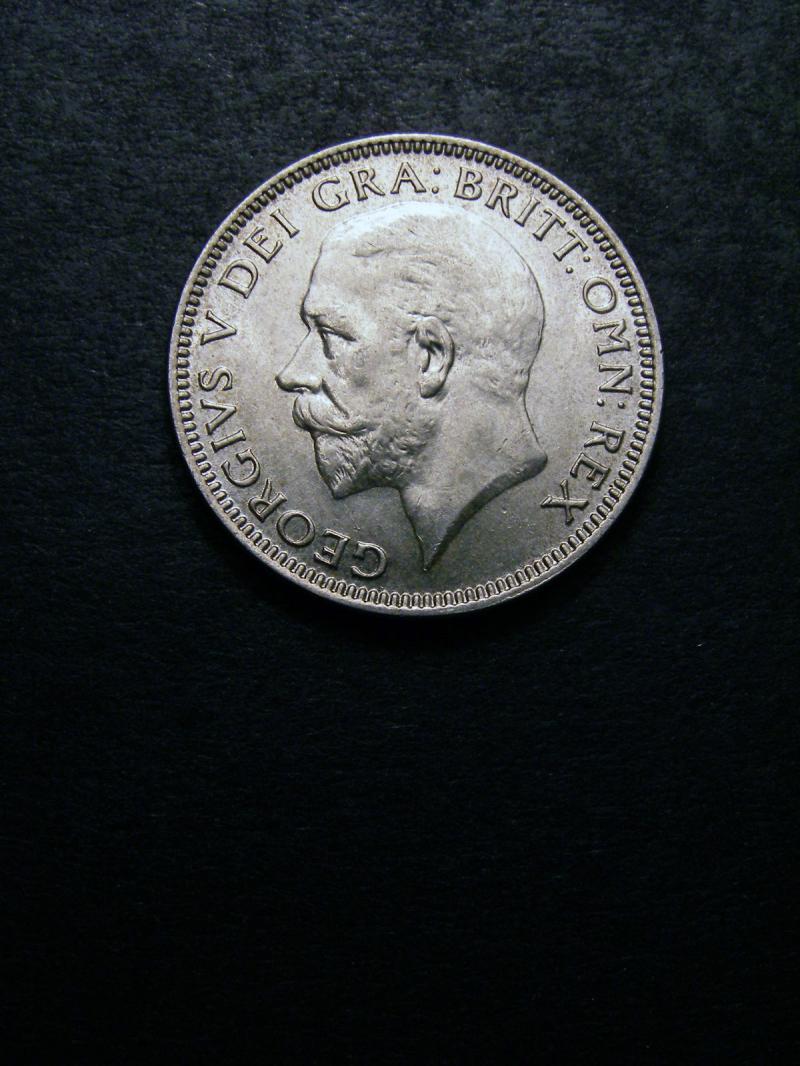 Shilling 1935 George V. Standard type - Obverse