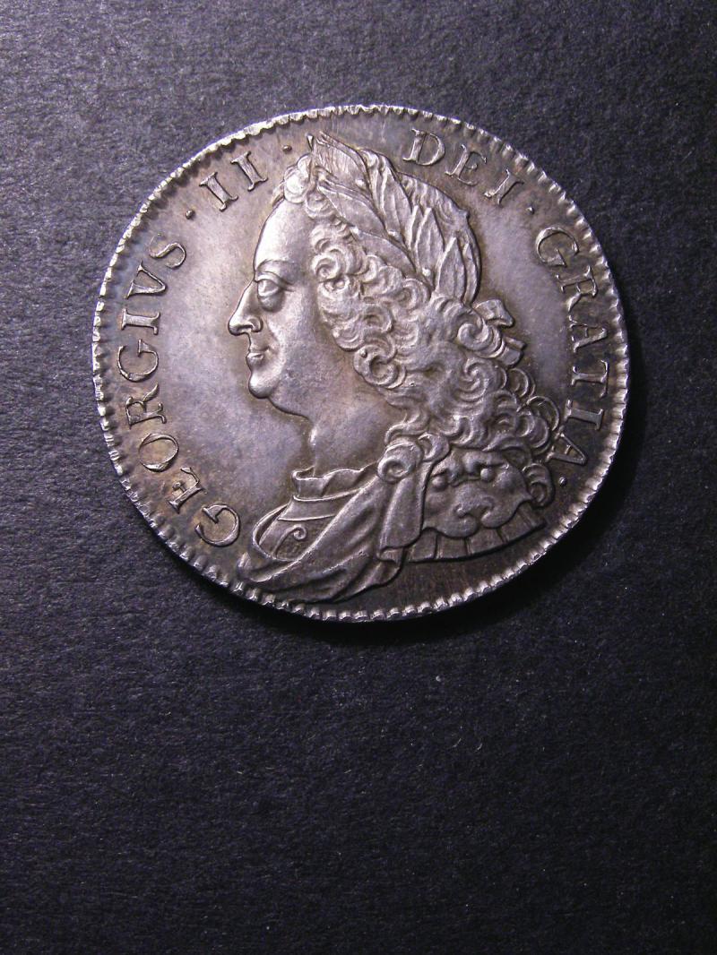 Halfcrown 1751 George II. Standard type - Obverse