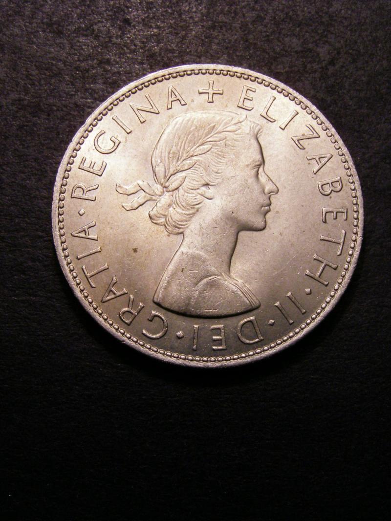 Halfcrown 1966 Elizabeth II. Standard type - Obverse