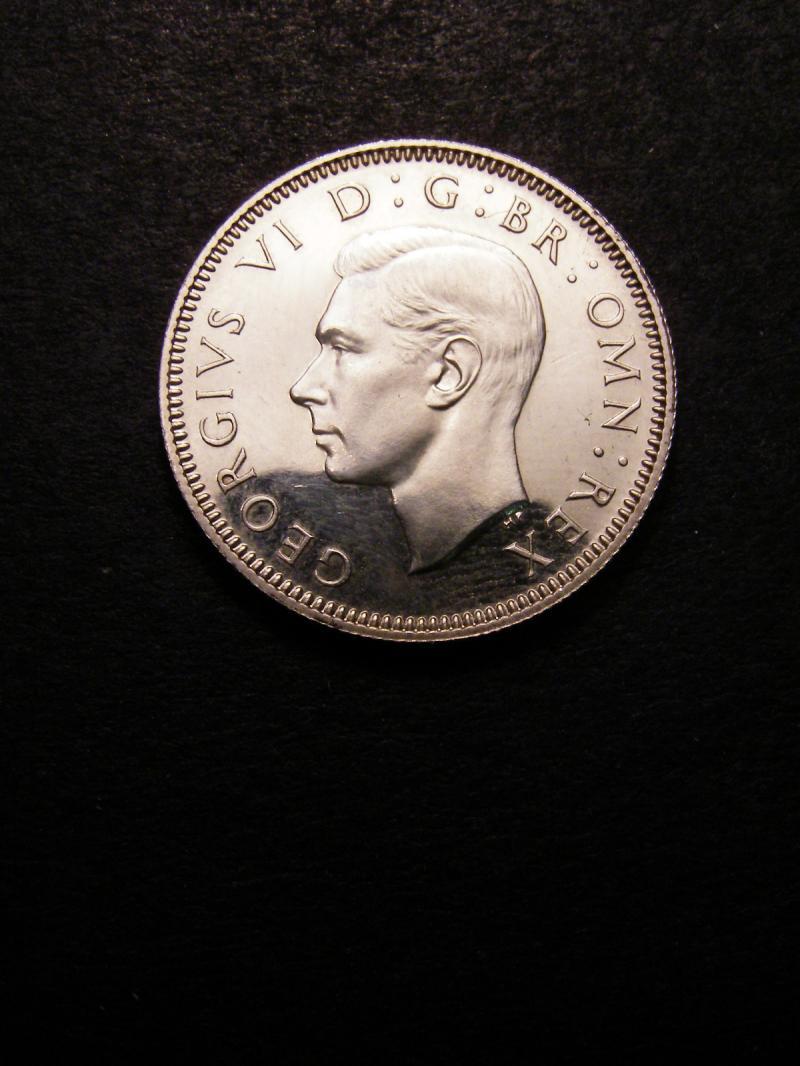 Shilling 1937 George VI. Scottish Proof - Obverse