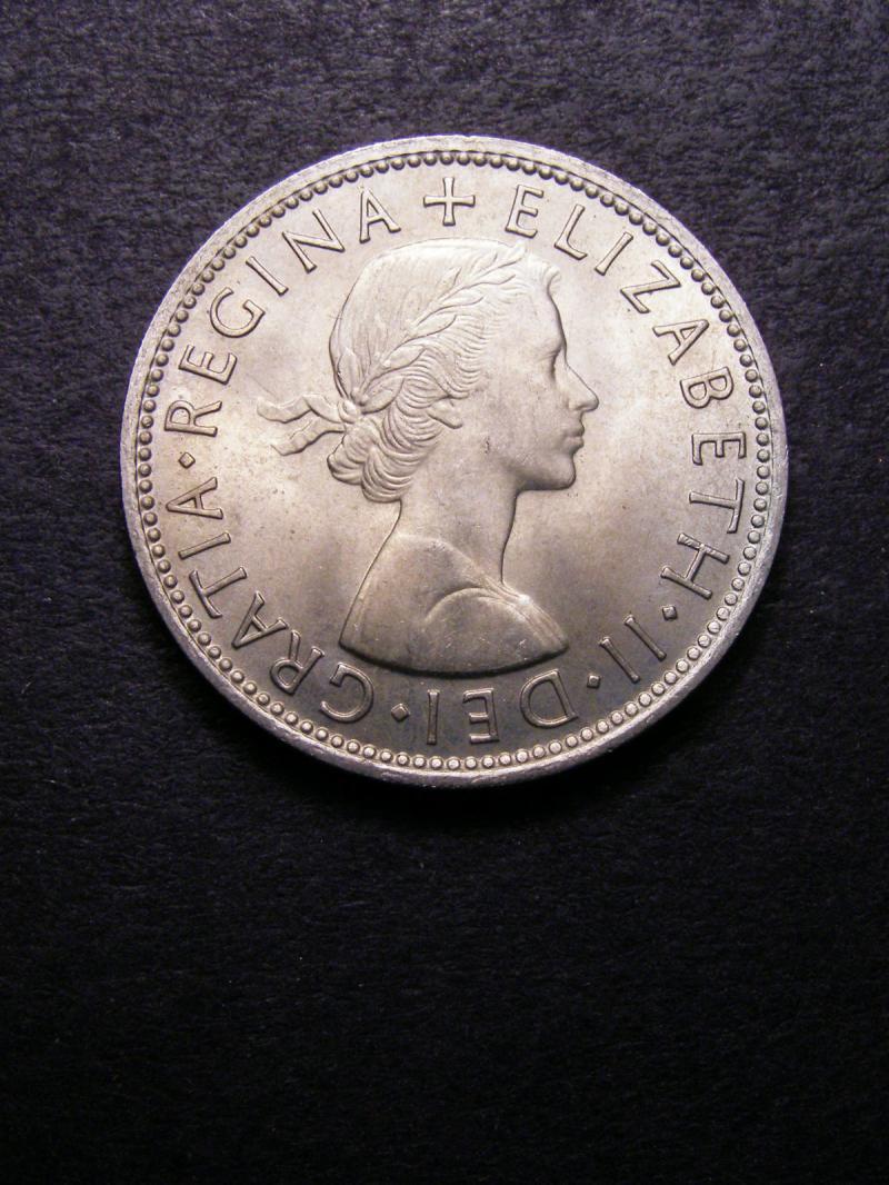 Florin 1964 Elizabeth II. Standard type - Obverse