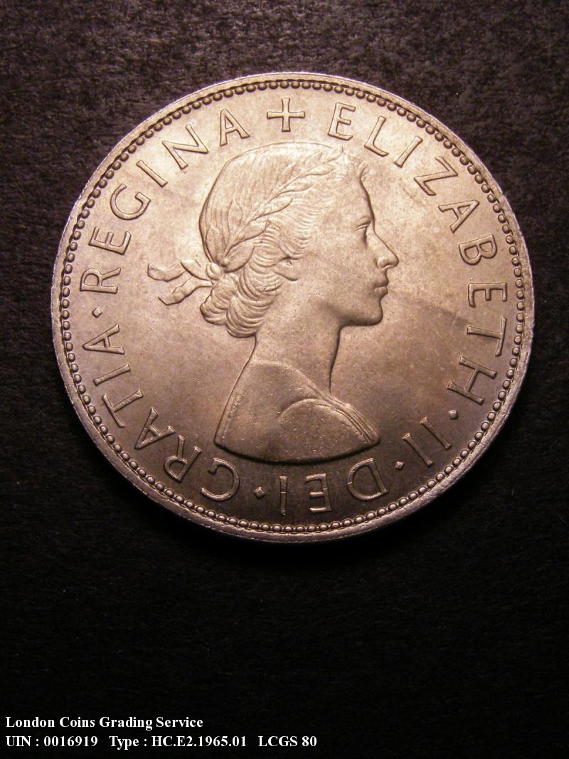 Halfcrown 1965 Elizabeth II. Standard type - Obverse