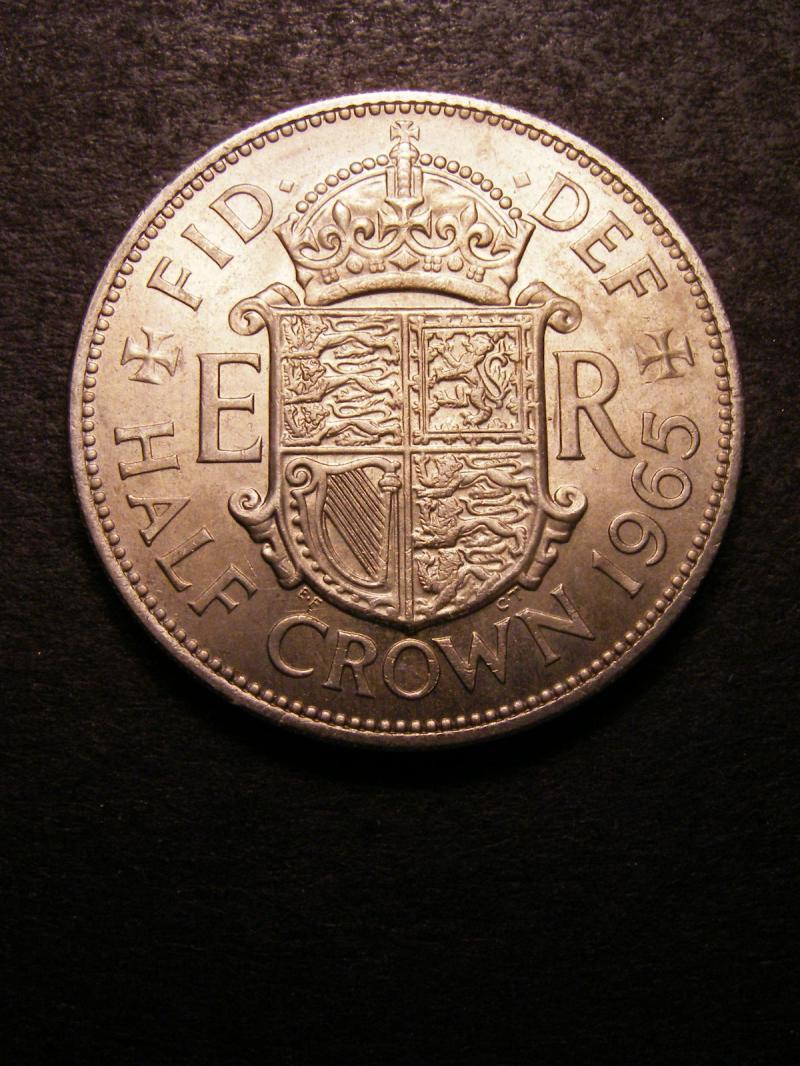 Halfcrown 1965 Elizabeth II. Standard type - Reverse