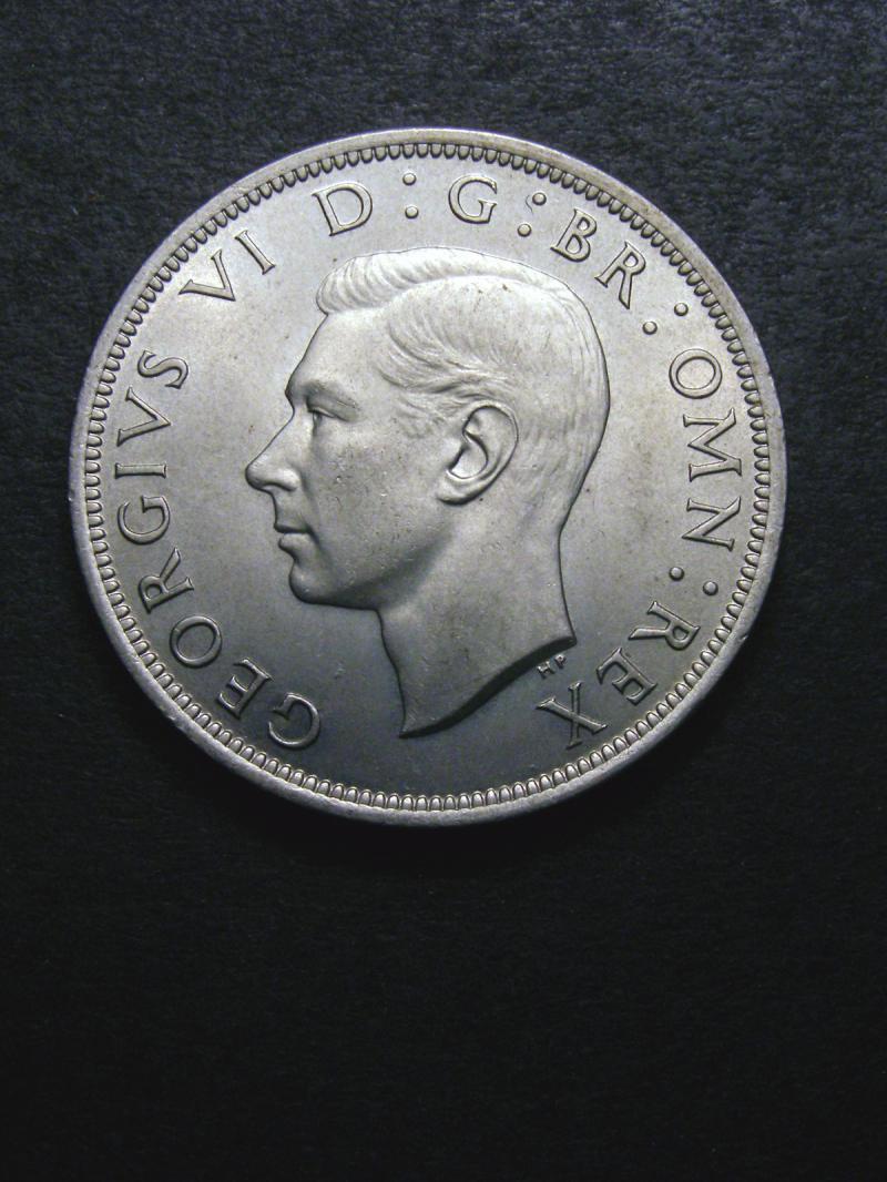 Halfcrown 1948 George VI. Standard type - Obverse