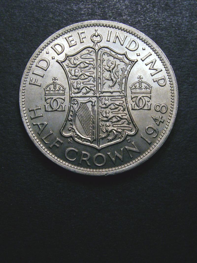 Halfcrown 1948 George VI. Standard type - Reverse