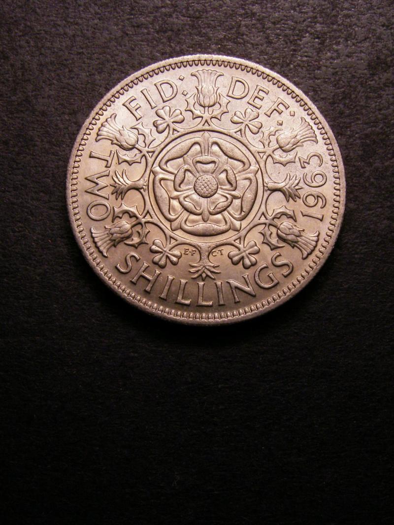 Florin 1963 Elizabeth II. - Reverse