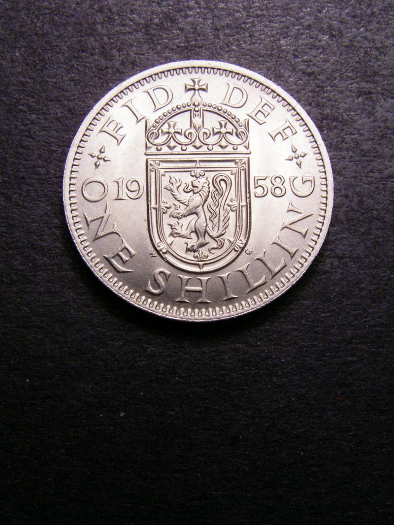 Shilling 1958 Elizabeth II. Scottish - Reverse